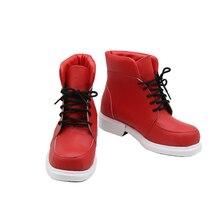 My Hero Academia Boku No Hero Akademia Izuku Midoriya Red Cosplay Shoes Boots Halloween Carnival Party Costume Accessory