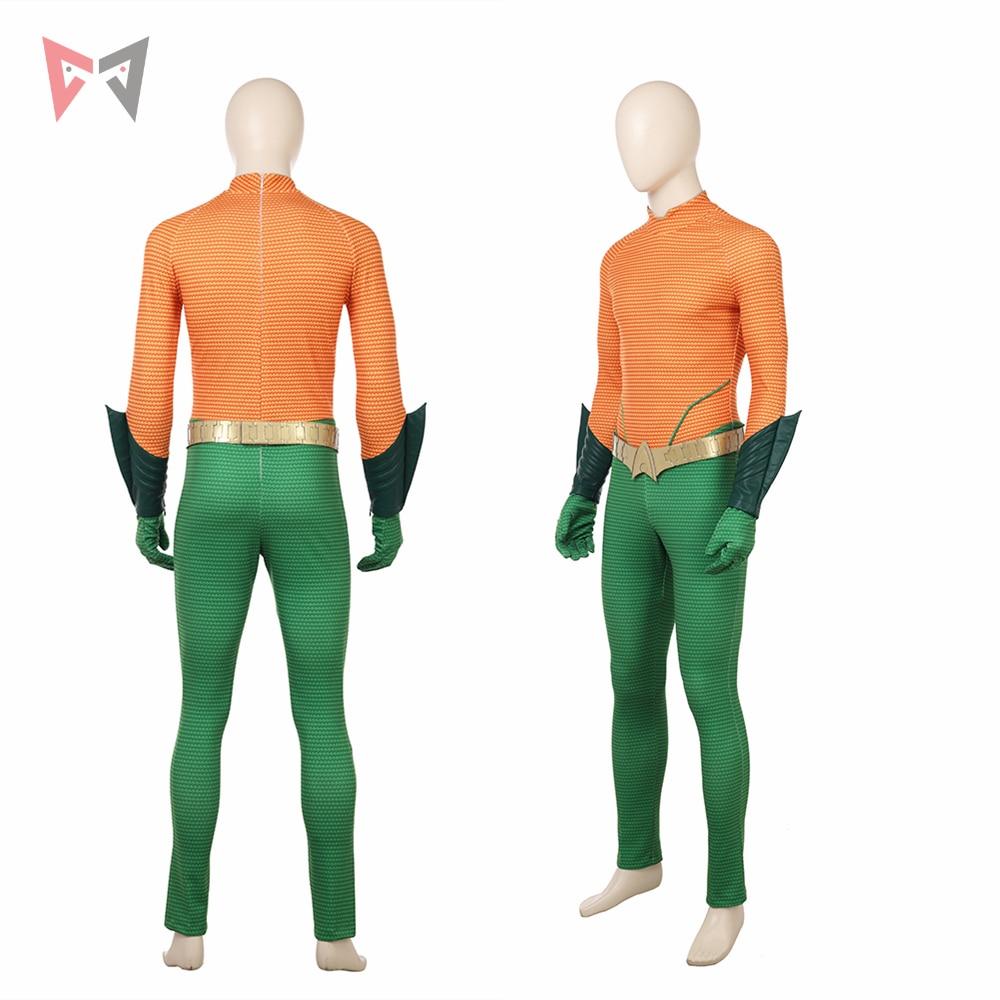 New MMGG Movie Arthur Curry cosplay Orin cosplay costume Aquaman Cosplay set high quality custom made