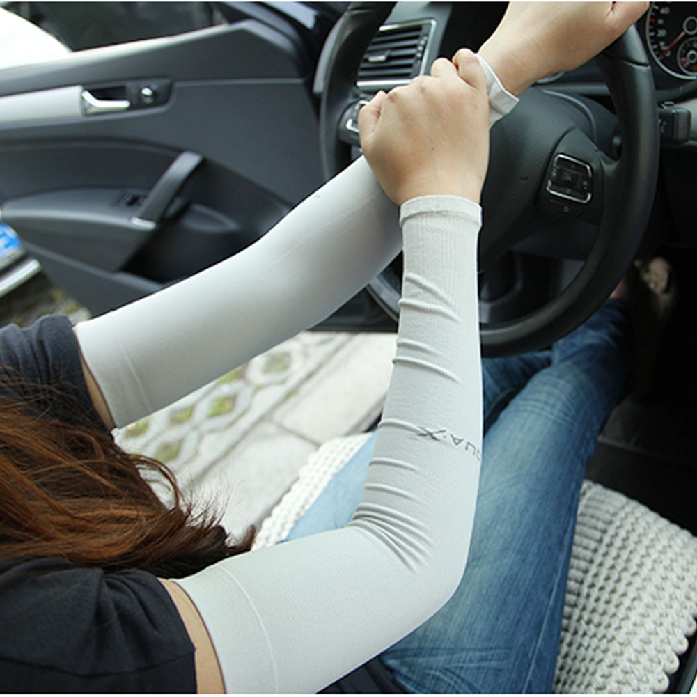Driving gloves spf - Driving Gloves Ice Silk Sun Protection Sleeve