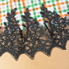 28.5CM embroidered lace ribbon for latest african lace saree dresses 2015 fine w