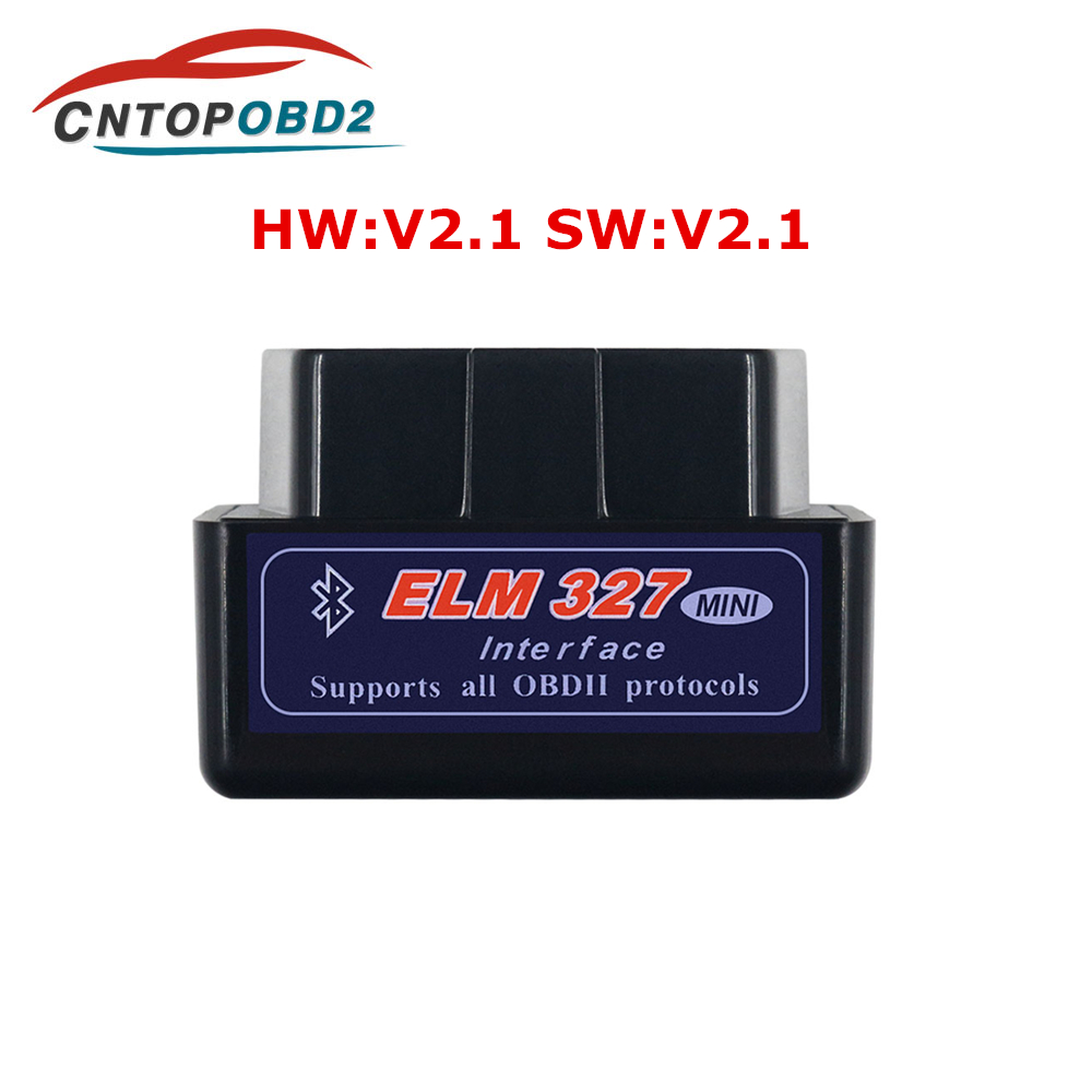 Super Mini ELM327 Bluetooth V2.1 OBD2 ELM 327 Interface Scanner Adapter Car Diagnostic Tool For Android Pc For OBDII Protocol