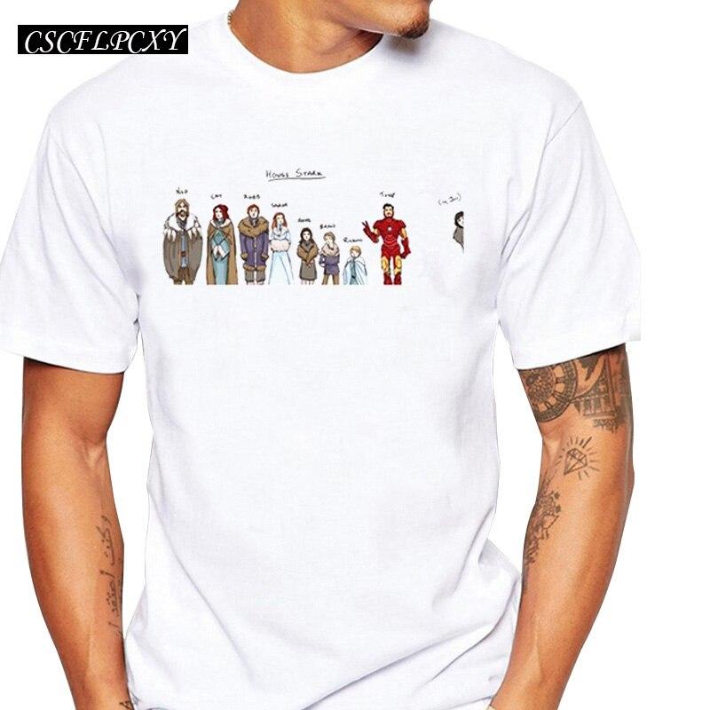 engracado-casa-stark-game-of-thrones-jon-snow-homens-t-shirt-alta-qualidade-cool-t-shirts-tops-de-manga-curta-t-basico-camisas