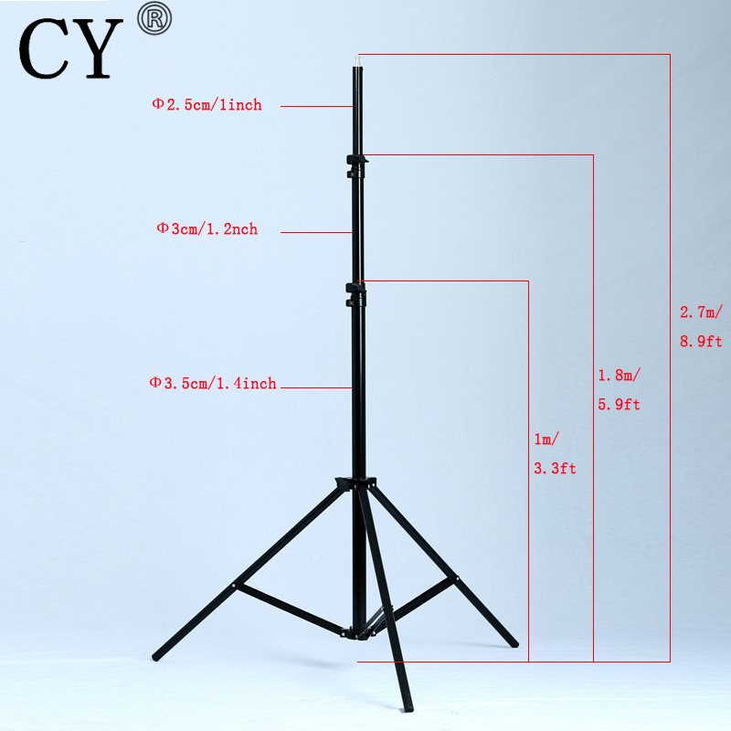 CY High Quality 280cm Photo Video Light Stands Studio Stands Photo Studio Accessories