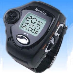 Image 2 - 1 Pair Wrist Watch Digital Wrist Watch Freetalker RD 820 Walkie Talkie Ham Radio Interphone 2 Way Radio With VOX Operation