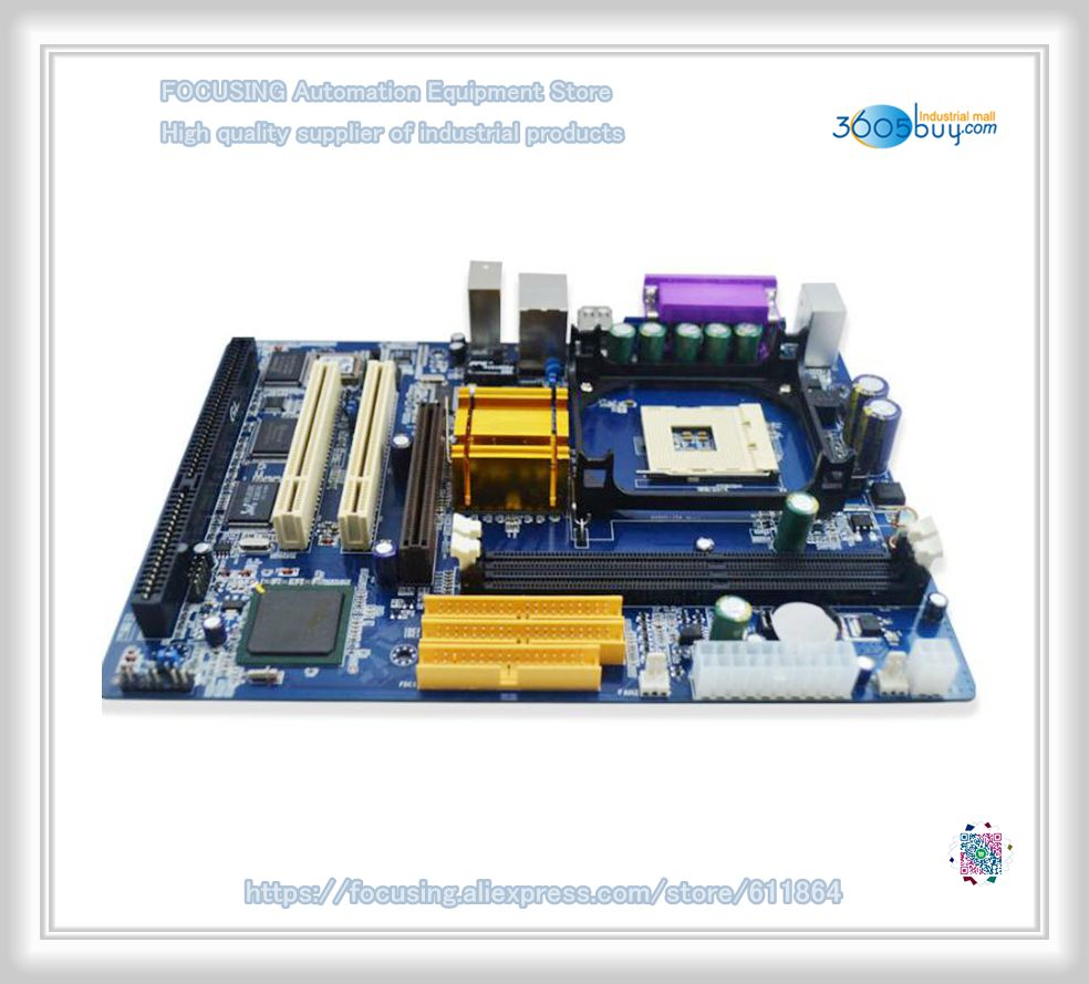 все цены на New 845GV motherboard with 478PIN 845 1 * ISA slot 1 * COM with driver CD онлайн