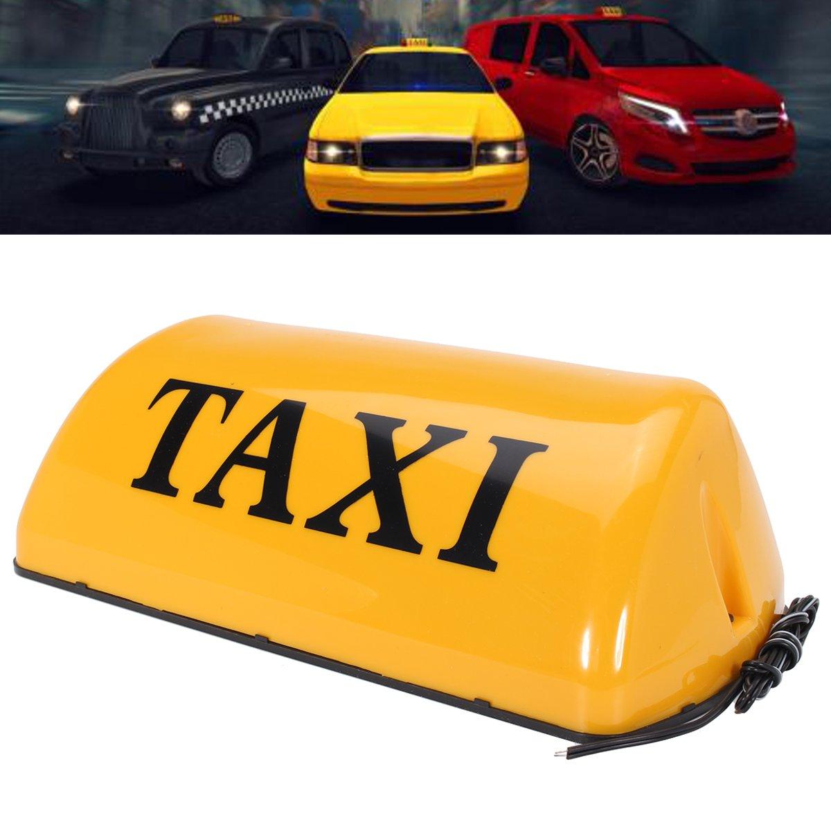 12 V i Sinal Top Luz LED Táxi Sinal Placa Topper eu Sinal Do Telhado Luzes do Carro Da Lâmpada Telhado