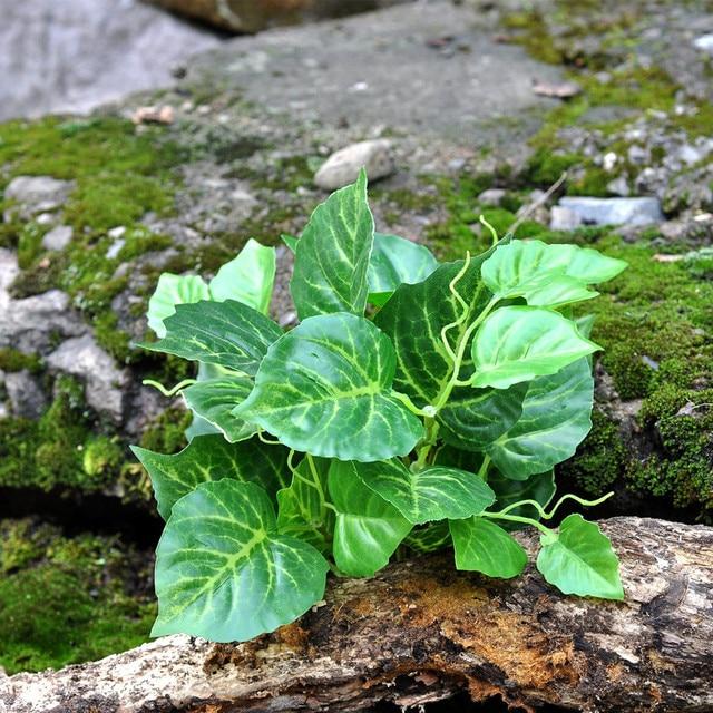 Us 42 Europäische Garten Pflanzen Großen Blatt Grüne Gras Gefälschte Blätter Garten Dekoration Ma2285 In Europäische Garten Pflanzen Großen