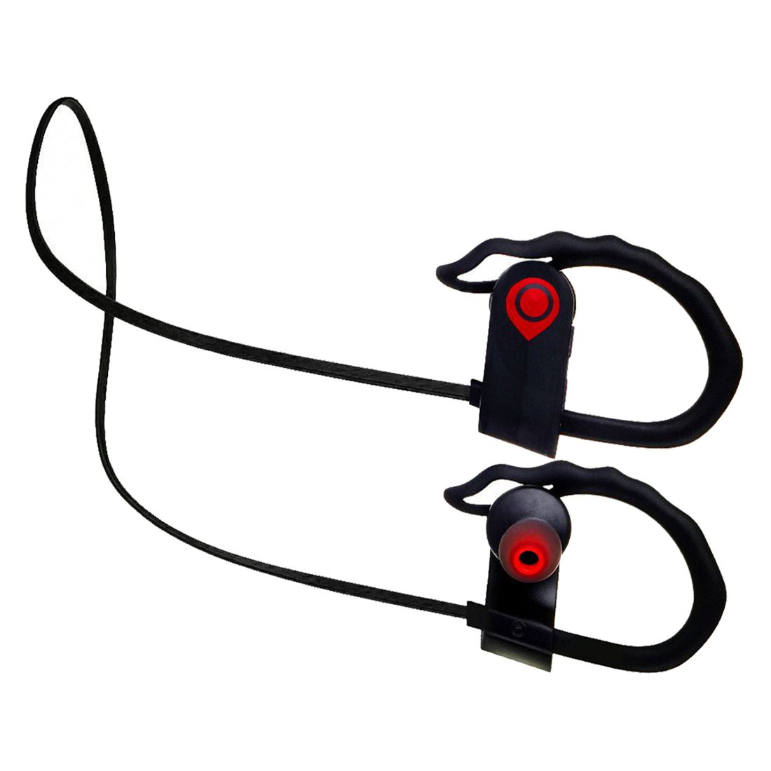 Bluetooth Headphones, Wireless Headphones Sports In-Ear Earbuds with Built-in Mic Wireless Earbuds Stereo Sound Noise Cancelli panasonic rp hxs400m a sound rush plus on ear headphones