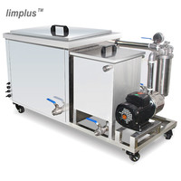 Limplus 135L Industrial Digital Ultrasonic Cleaner Cleaning Scales Firearms Industrial Parts Ultrasonic Washing Machine