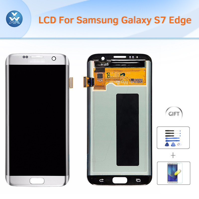 Samsung Galaxy S7 Edge SM-G935G935FG935AG935VG935PG935TG935R4G935W8 LCD & Digitizer Assembly - Silver