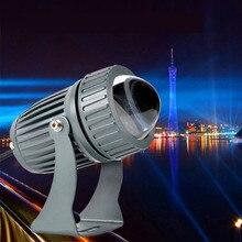 12 В 24 В постоянного тока 10 Вт Светодиодный прожектор настенный светильник на большие расстояния водонепроницаемый настенный светильник узкий угол луча Светодиодный прожектор 100-240 В точечный светильник