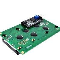Межсоединений интегральных схем/I2C/TWI 2004 серийный Синяя подсветка lcd модуль для Arduino UNO R3 MEGA2560 20X4 2004