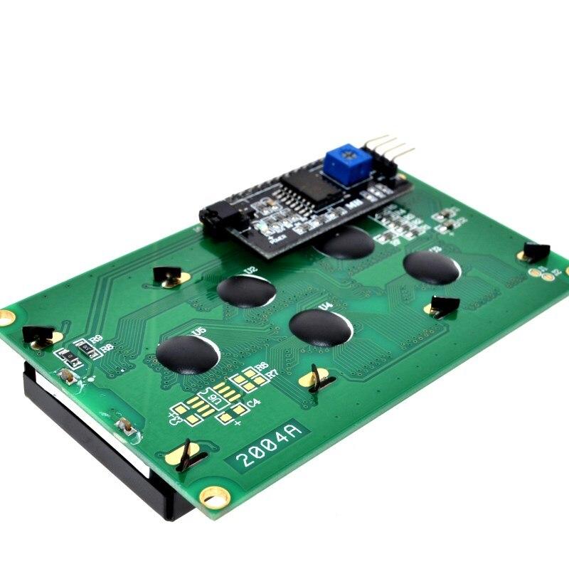 IIC/I2C/TWI 2004 módulo LCD luz de fondo azul para Arduino UNO R3 MEGA2560 20X4 2004