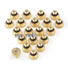Brass Misting Nozzles for Cooling System 0.012 (0.3 mm) 10/24 UNC Garden