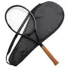 PS 90 zwarte Carbon Racket tennisracket Geschuimd handvat 4 1/4, 4 3/8, 4 1/2 met zak - 1