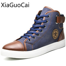 Brand American Made Men Casual Shoes High Top Lace Up Couple