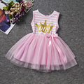1 años dress 2 años de encaje fiesta de cumpleaños de cumpleaños dress rosa púrpura del bebé ropa de la muchacha vestidos para niñas vestido de verão