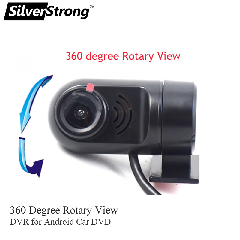 SilverStrong Front DVR Camera USB Camera With ADAS Speed For Zeniss SilverStrong Android OS Car DVD GPS Navigation Radio