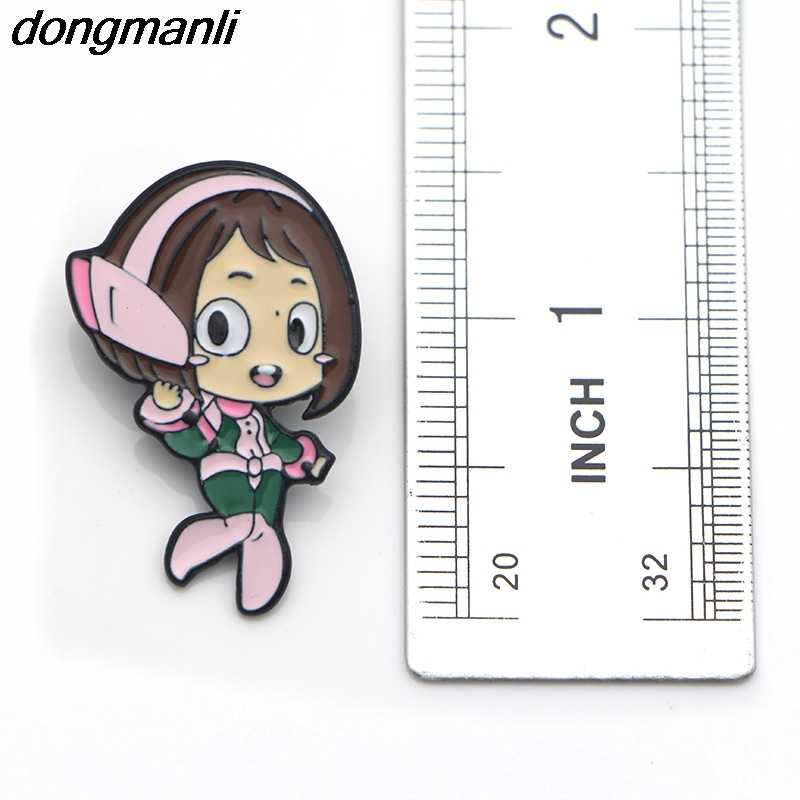 P1662 Dongmanli Аниме Boku No Hero academic My Hero Academy металлическая Глянцевая булавка значок Броши фанаты подарок