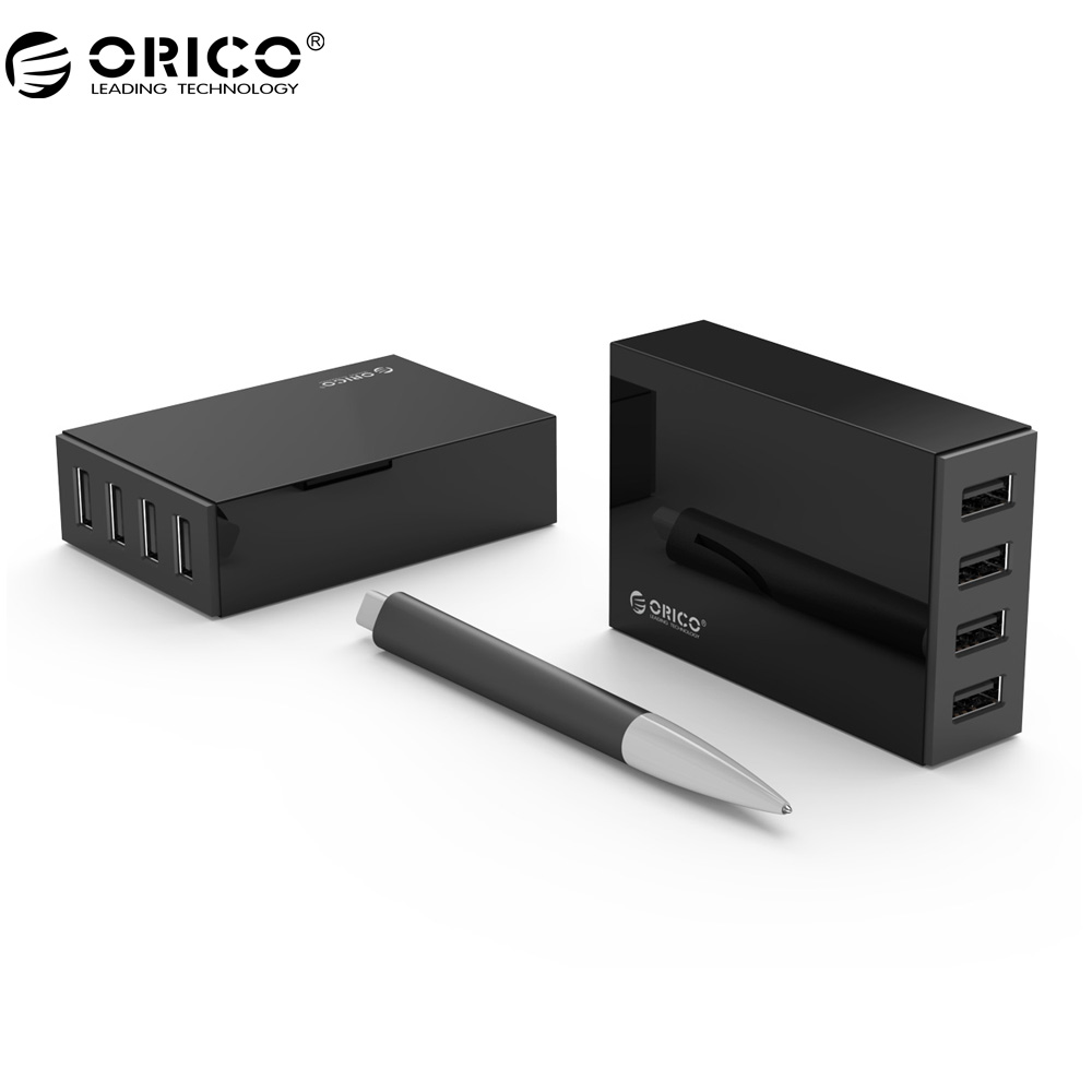 ORICO CSL-4U USB Charger 5V6.8A 34W Universal Mobile Phone Desktop Charger Wall Charger Travel Charger for Phone Tablet