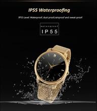 """1,22 """"IPS Bluetooth Smart Uhr Wasserdichte Smartwatch Sport Uhr Siri Gestensteuerung Für iPhone Android Phone Wearable Geräte"""
