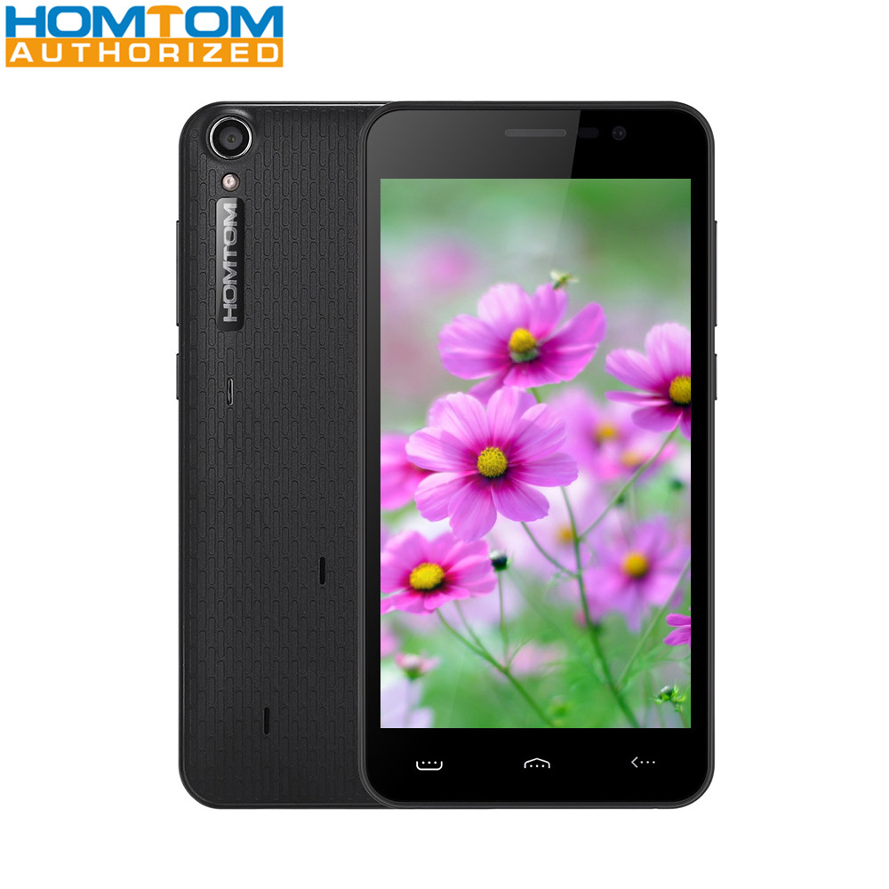 Homtom HT16 5.0 inch 3G Smartphone Android 6.0 MTK6580 Quad Core 1.3GHz 1GB RAM 8GB ROM Wakeup Gesture GPS A-GPS Bluetooth 4.0