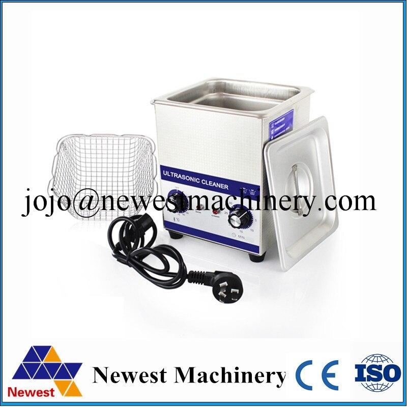 Ultrasound Cleaner Cleaning 2L Tank Baskets Dental 80W 40kHz Digital Heated Industrial Ultrasonic Cleaner Ultrasonic Bath