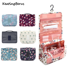Waterproof High quality Women Men Hanging Cosmetic Bags Large Travel