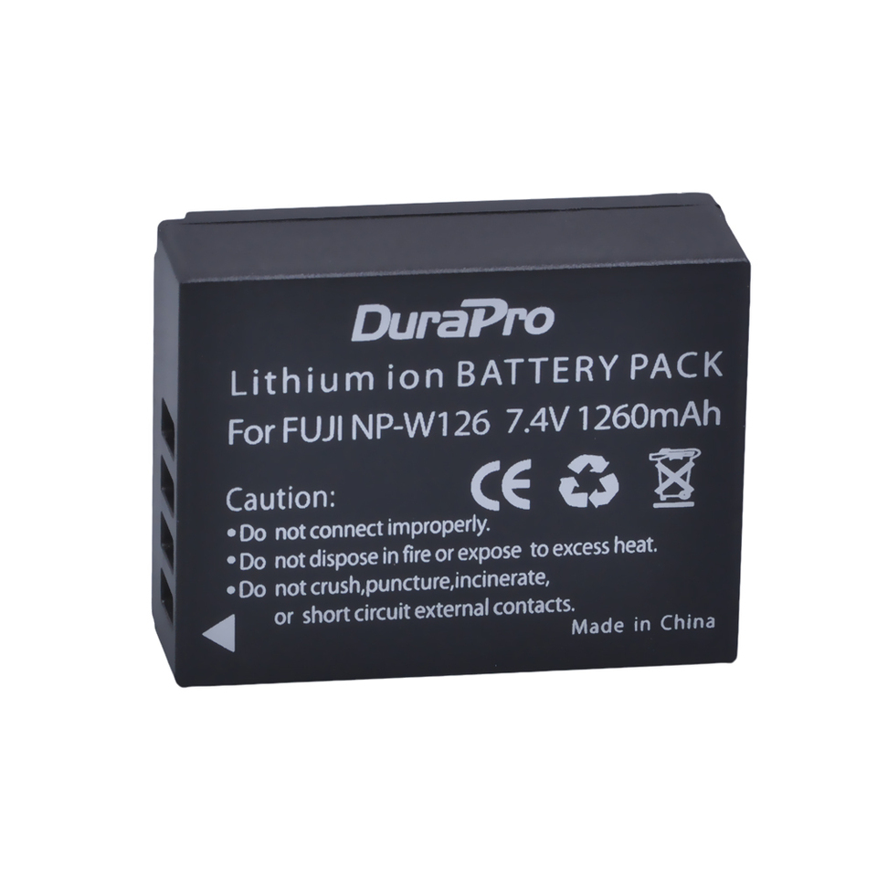 Wall/&car Battery Charger For NP-W126 for FUJI HS30 EXR X-Pro1 HS33 EXR