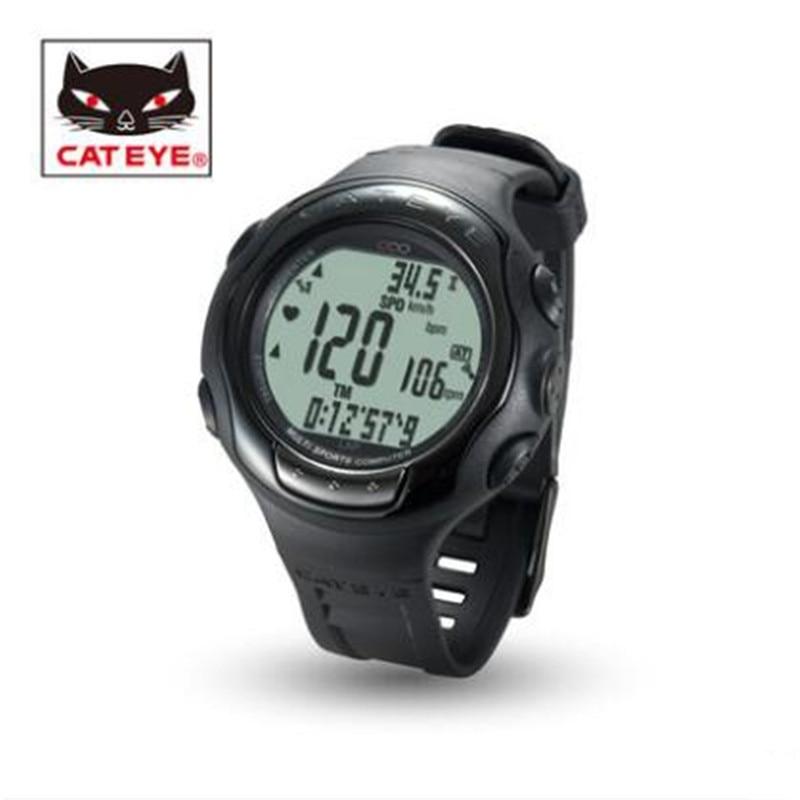Cateye MSC-CY300 Q3a vélo sport montre chronomètre cyclisme vélo ordinateur chronomètre cyclomètres sans fil cyclocompute