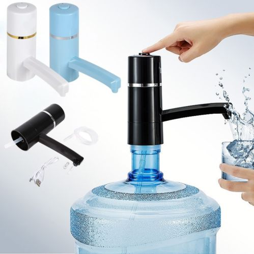 Water Dispenser Electric Bottle Pump Drinking Bottles Suction Unit Kitchen Faucet Tools In From Home