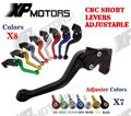 Yamaha YZF R6 Racing 2005-2014 CNC corto ajustable freno palancas de embrague