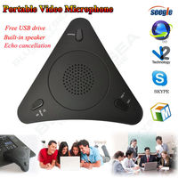 Free Shipping USB 3 5mm VOIP CONFERENCE LOUDSPEAKER INTERNET PHONE TELEPHONE FOR PC LAPTOP NEW