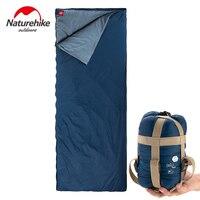Naturehike Outdoor Camping Summer Sleeping Bag Envelope Type 3 Season Cotton Mini Ultralight Sleeping Bag 190x85cm