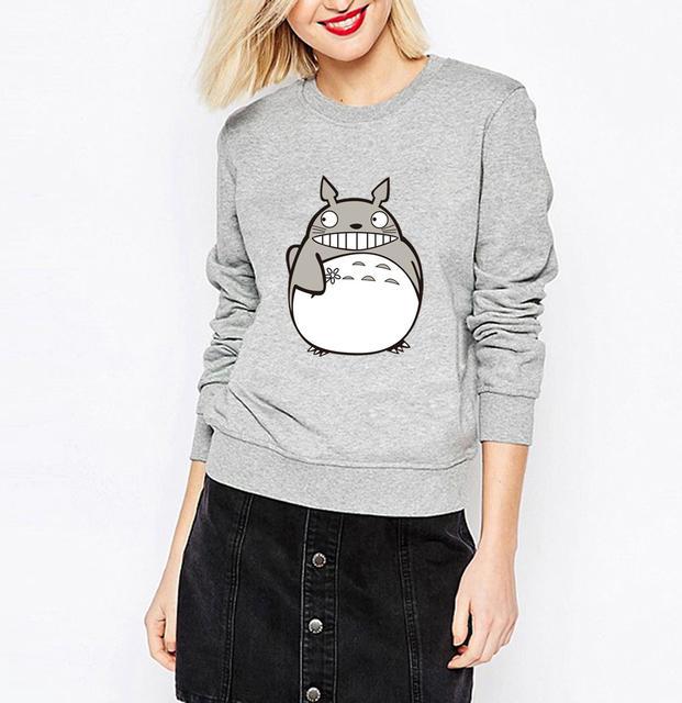 Cute Full Face Totoro Sweatshirt (4 colors)