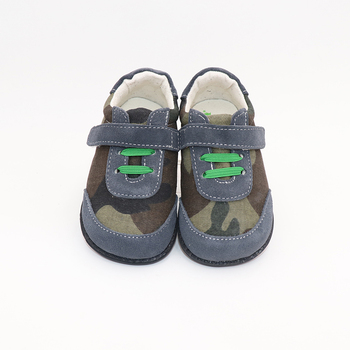 TipsieToes marca superior de alta calidad de cuero genuino costura niños zapatos descalzos para niños 2019 primavera nueva llegada
