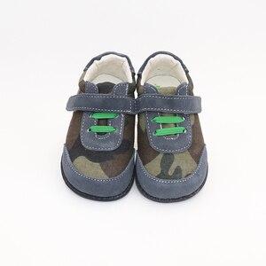 Image 1 - TipsieToes למעלה מותג עור אמיתי באיכות גבוהה תפרים ילדים ילדי נעלי יחף עבור בני 2020 אביב חדש הגעה