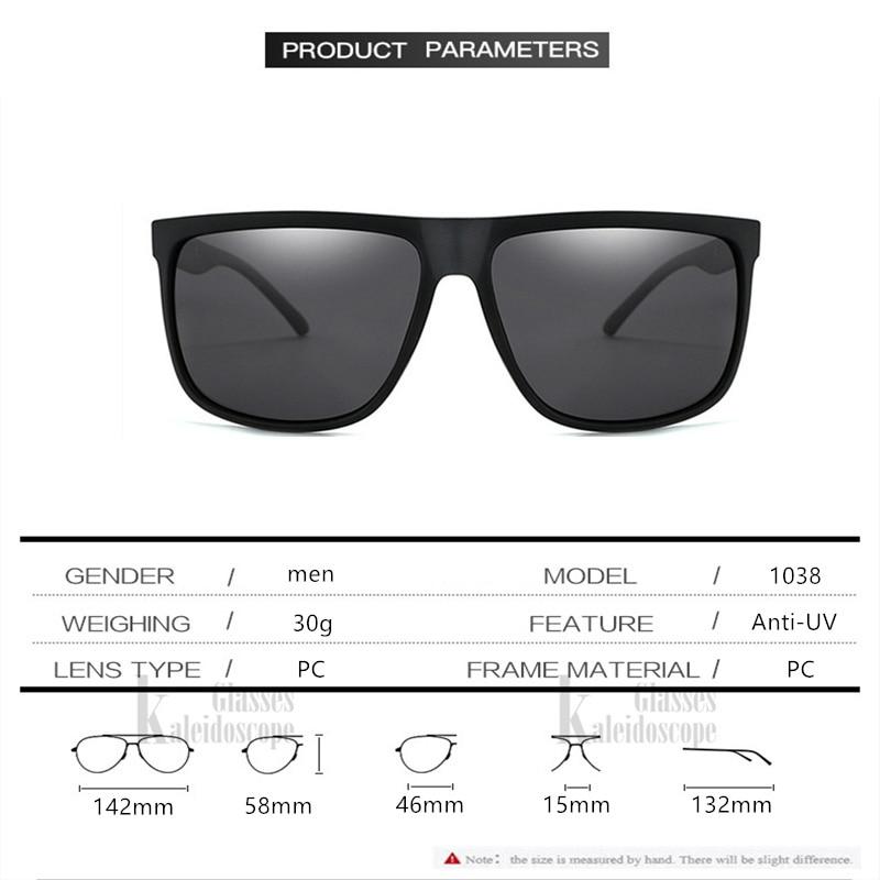 1b79f3816b Caleidoscopio gafas de los hombres gafas de sol polarizadas de mujer ...