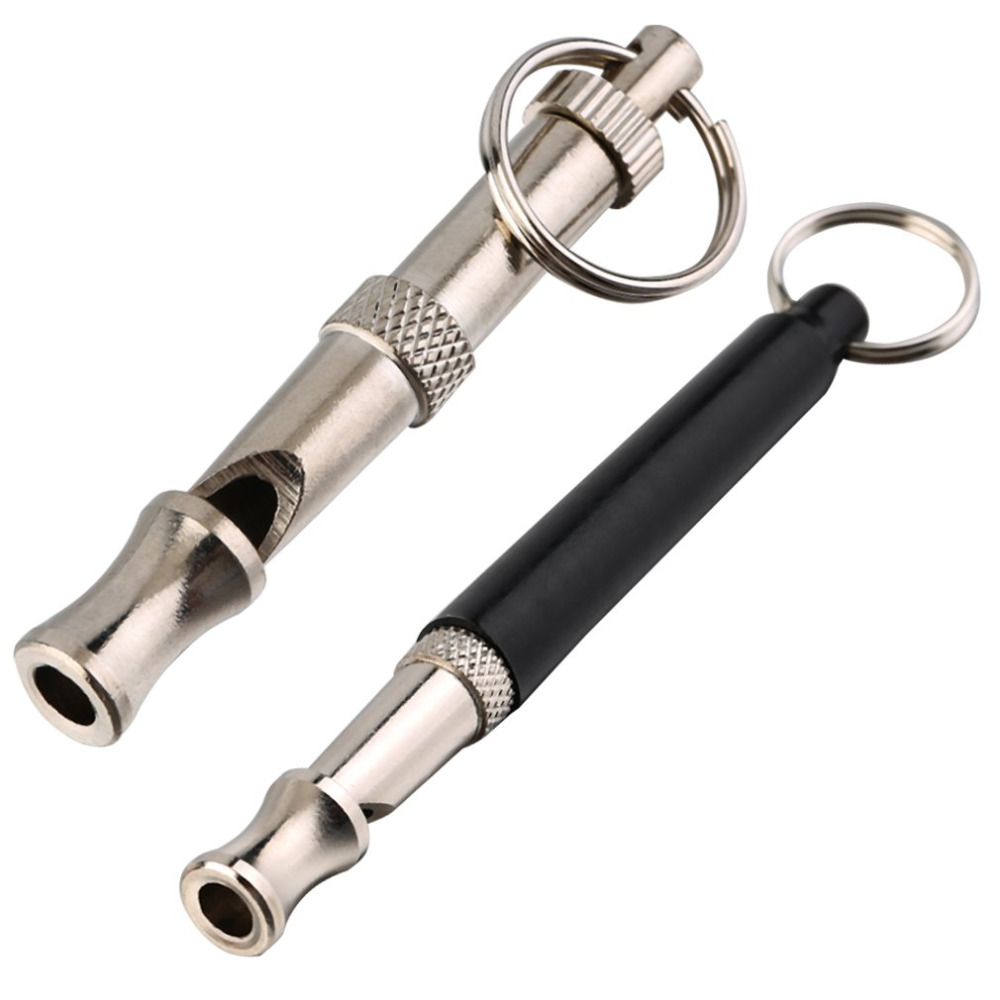 font b Pet b font Dog Training Whistle Obedience Supersonic Sound Pitch Ultra Sonic Quiet