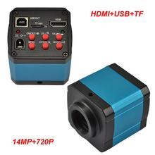 Sale 14MP TV HDMI USB Industry Digital C-mount Microscope Camera TF Video Recoder DVR