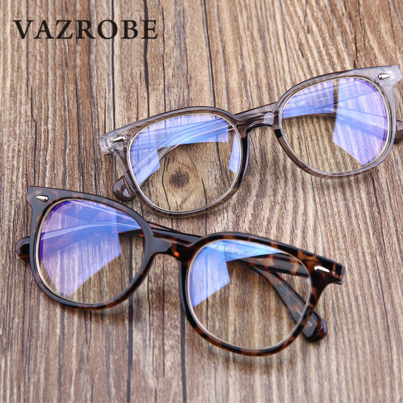 Vazrobe Computer Glasses Men Women Anti Blue Radiation Work/home Tinted Blue light for gaming Eyewear eye protection square