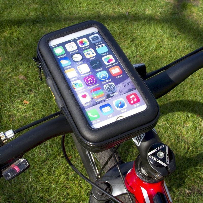 buy popular 0ec7b a7256 US $9.99 |Waterproof Case Bag for Xiaomi Mi5 Bike Phone Bag Bicycle Phone  Holder GPS Holder Stand Support-in Fitted Cases from Cellphones & ...