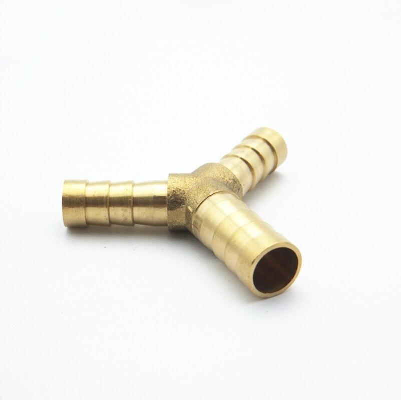 6mm Schlauch Barb X 8mm Schlauch Barb X 6mm Schlauch Barb T Messing Stacheldraht Rohr Montage Kupplung Stecker Adapter Für Kraftstoff Gas Wasser Sanitär