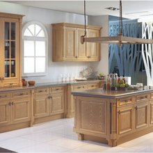 2017 Free design Custom furniture for kitchen with solid woo