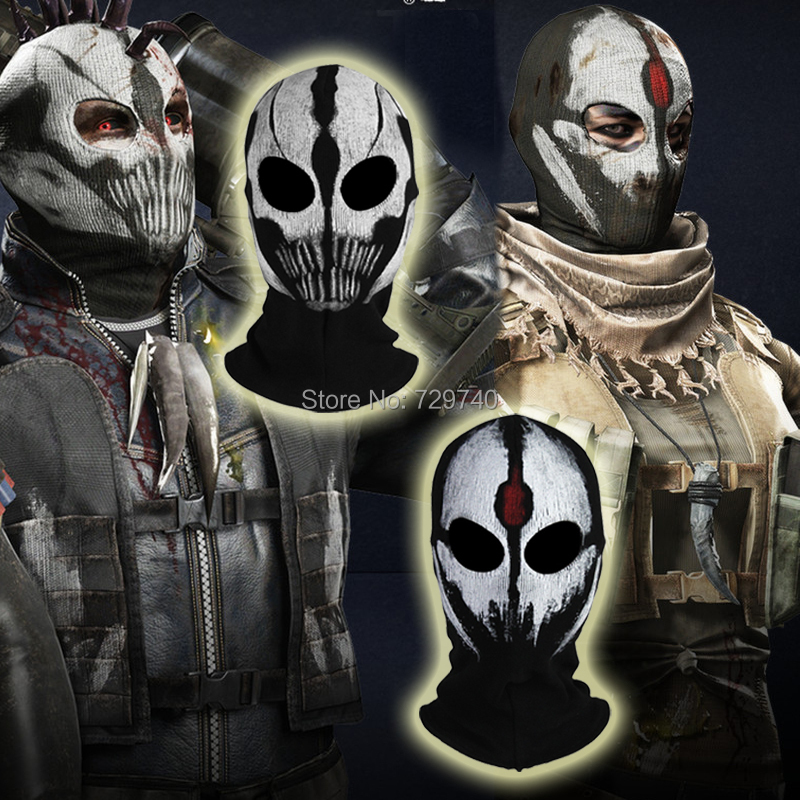 Call Of Duty 10 Cod Ghosts Logan Balaclava Ski Skull Hood: Popular Games Ghost-Buy Cheap Games Ghost Lots From China