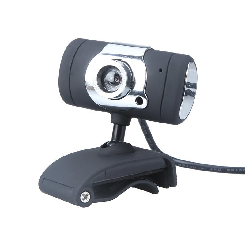 USB 2.0 50.0M HD Webcam Web Camera Cam Digital Video Webcamera With Mic Clip CMOS Image For Computer PC Desktop Laptop TV Box