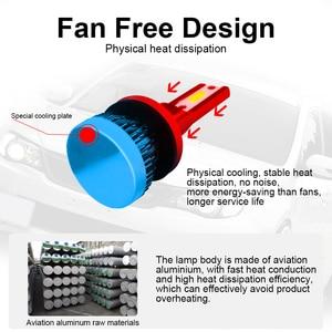 Image 5 - LSlight bombilla de faro LED para coche, 12v, 55W, 9005 k, 9006 k, ampolla Turbo, H7 H4 H11 H1 H9 9012 6000 HB2 HB3 HB4 8000