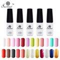 Saviland 1pcs Gel Varnish One Step Permanent Manicure Nail Art Soak Off Three in One Pure & Glitter 24 Colors Nail Gel