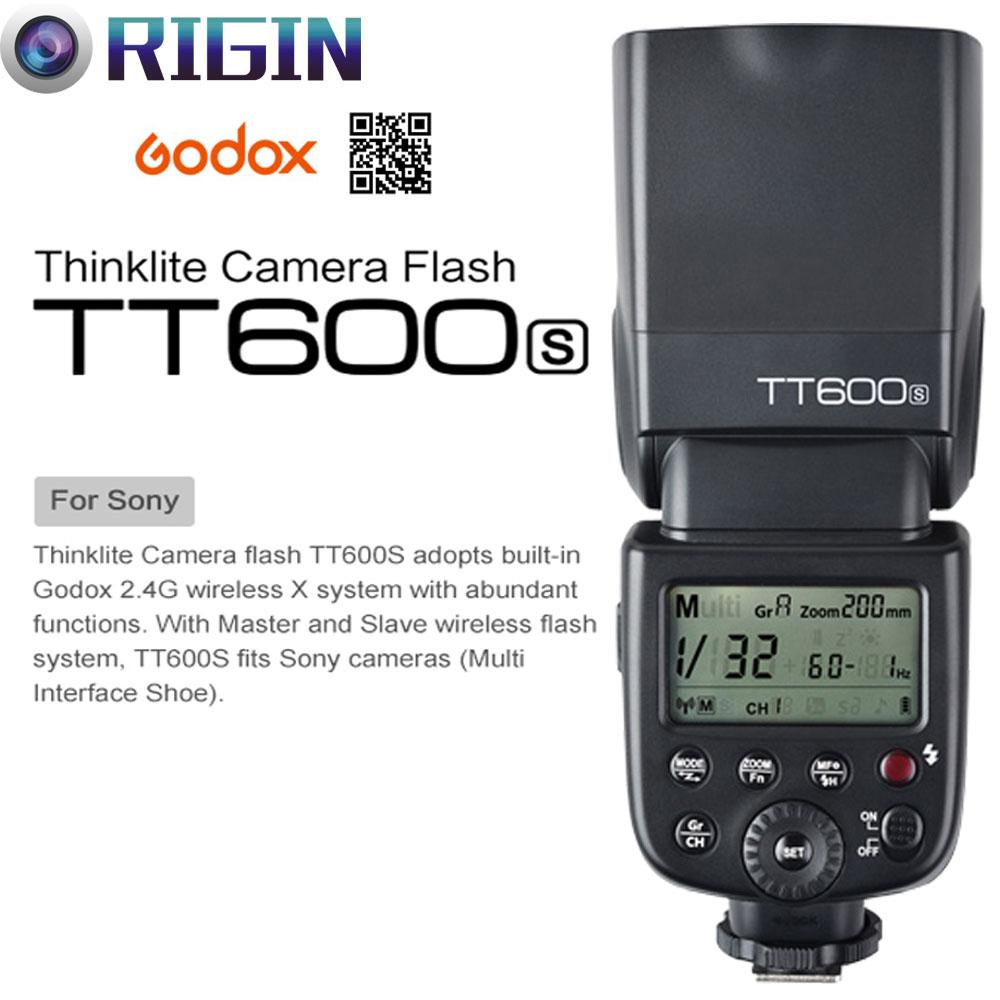 Godox TT600 / TT600S GN60 HSS 1 / 8000s Kamera Flash Speedlite 2.4G - Kamera və foto - Fotoqrafiya 2
