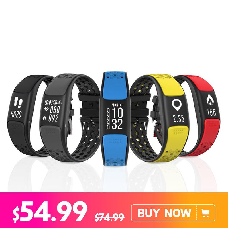 Presale P8 Smart Band 0.73'' OLED Screen GPS IP68 Waterproof Bracelet Heart Rate Sleep Monitor Pedometer Smart Watch Men Women